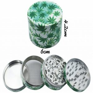4pc Leaf Steel Grinder
