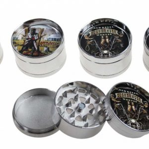 3 Piece Ned Kelly Skull Grinder