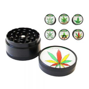 Metal Green Leaf Grinders