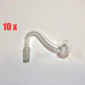 10 x Mini Bubbler Glass Pipe