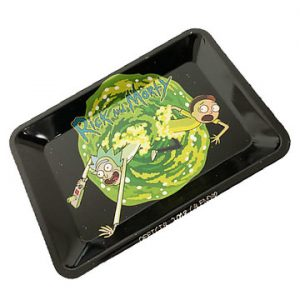 Rick and Morty - Galaxy Rolling Metal Tray