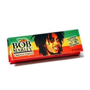 Bob Marley Hemp Rolling Papers 1 1/4