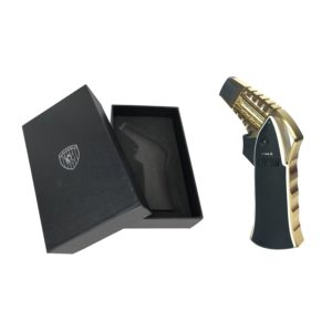 Premium Rocket Jet Flame Lighter Gold