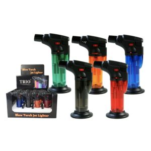 Clear Stand Up Blow Torch Jet Lighter