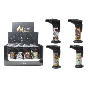 ATTITUDE Stand Up Blow Torch Jet Lighter