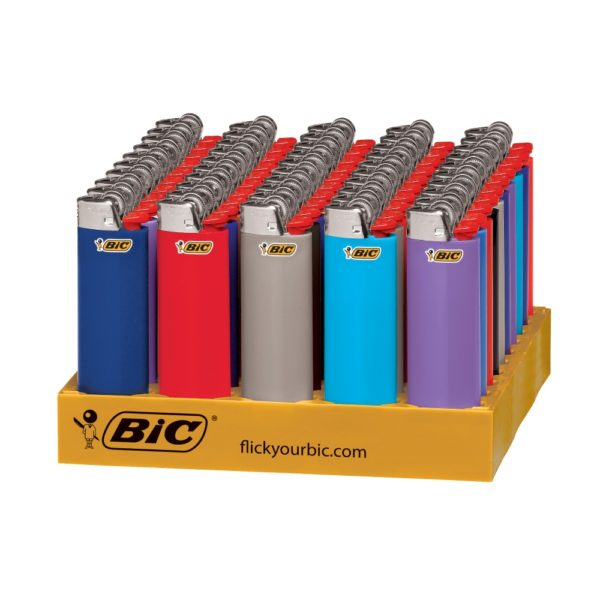 50 x Bic Disposable Child Guard Lighter Large