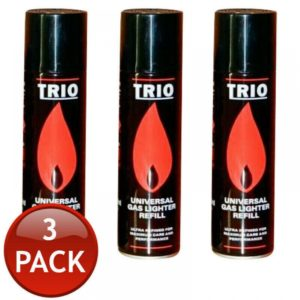 3 x GAS REFILL JET BLOWTORCH FLAME LIGHTER FUEL BBQ 250mL
