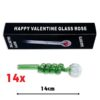 Green Curly Sweet Puff Pipe 14cm x14
