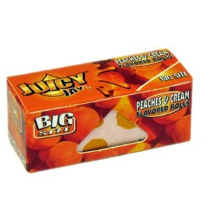 Juicy Jays Peaches & Cream Flavoured Paper Rolls 5m
