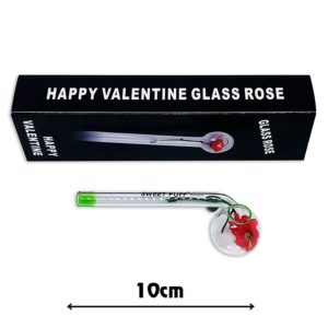 Sweet Puff Pipe with Green Rim n Balancer 10cm