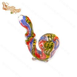 Agung Sherlock Glass Bubbler Rainbow
