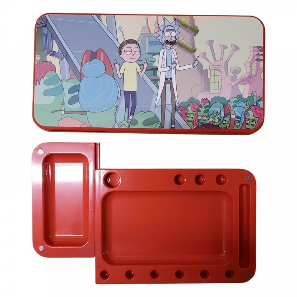 Rick n Morty Tray