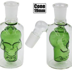 Skull Tar Catcher Chamber Green