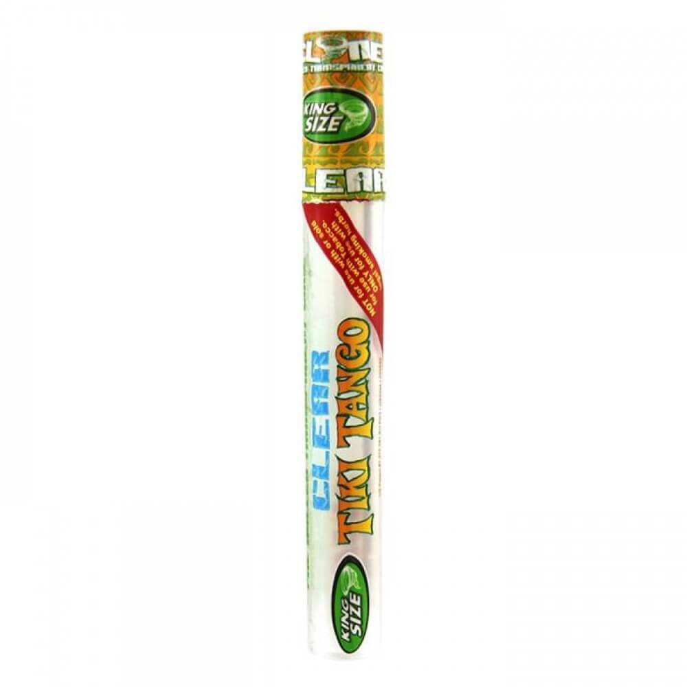 Cyclones King Size Clear Tiki Tango Pre Rolled Cone King Size