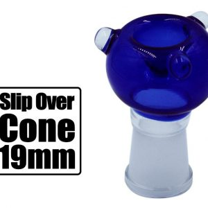 Slip Over 19mm Glass Cone