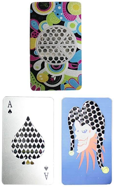 Poker Card Credit Card Grinder
