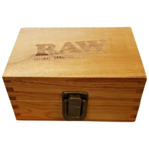 Raw Wooden Box Small 12.7x8.6x6.3cm