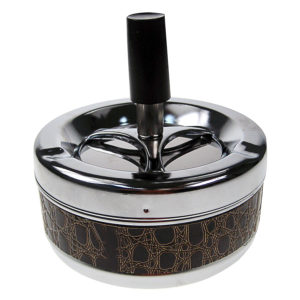 Medium Metal Spinning Ashtray 5cm
