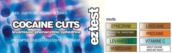 EZ Test Tube for Adulterated Cocaine Cuts