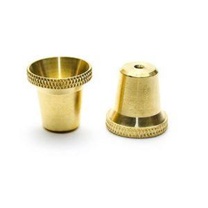 Medium Bonza Cone Brass Bong Piece