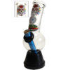 Candy Skull Bonza Waterpipe Glass Bong 20cm