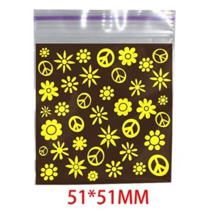 Hippie Printed Bag 51x51mm