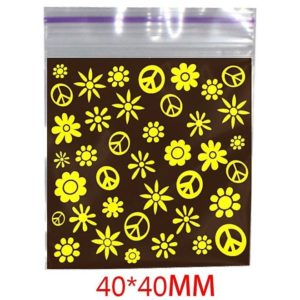 Hippie Printed Bag 40x40mm