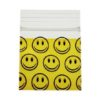 Smiley Face Bag 25x25mm