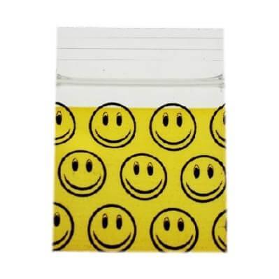 Smiley Face Bag 25x25mm