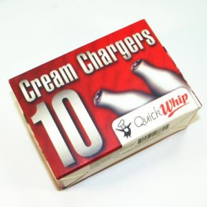 Quick Whip Cream Chargers 10x8g