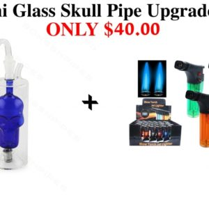 Mini Glass Skull Pipe Upgrade Pack