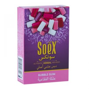 Soex Shisha Herbal Molasses Bubble Gum 50g