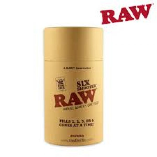 Raw Six Shooter
