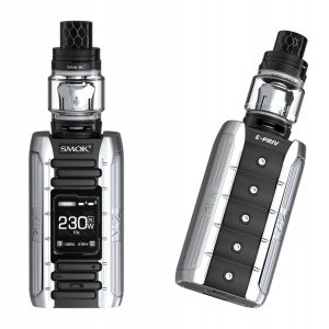Smok E-Priv 230w Tc Kit - Black Silver