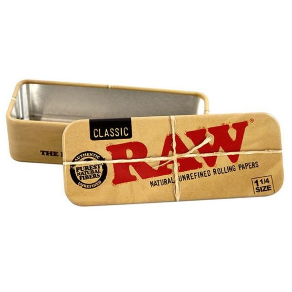 Raw ROLL CADDY Metal Tin 1.25