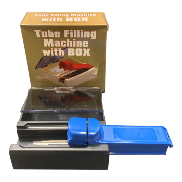 Tube Filling Machine With Box