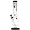 Agung Ice Slider Bubble Full Glass Bong Black 33cm