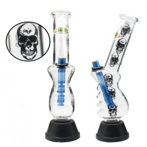 Large Gripper Bonza Skull & Rose 32cm