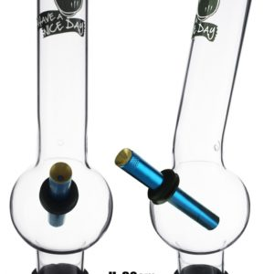 Large Glass Bonza Bubble Have A Nice Day