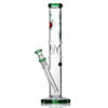 Agung Ice Slider Full Glass Bong Green 33cm