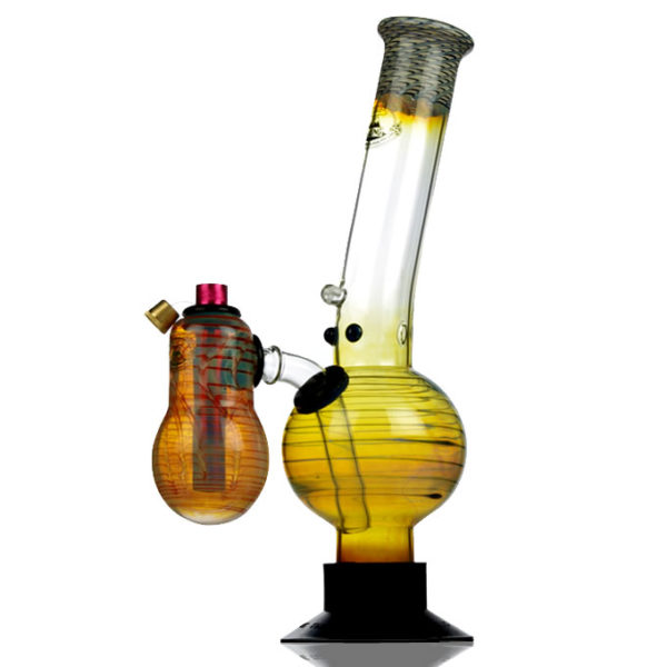 Agung Booster Chamber Color Glass Bong 32cm