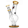 Agung Little Bull Amber Full Glass Bong 20cm