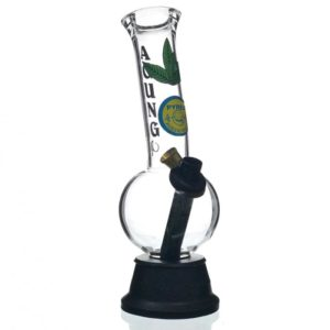 Agung Cheech Leaf Glass Bong 24cm