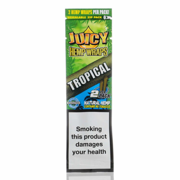 Juicy Jays Hemp Wraps Tropical