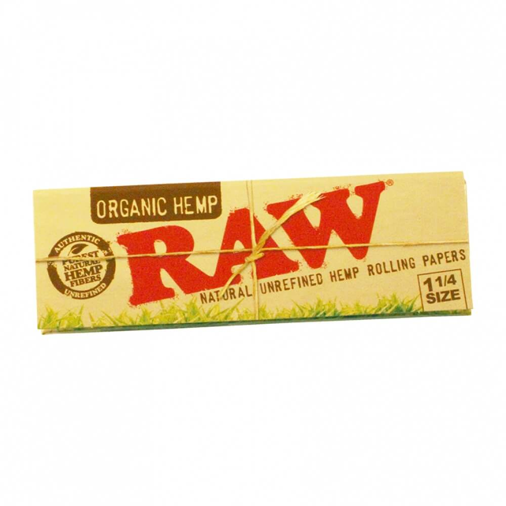 RAW Organic Rolling Papers 1 1/4