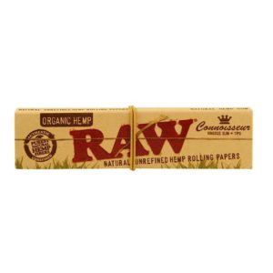 RAW Organic Rolling Papers Connoisseur King Size Slim + Filter Tips