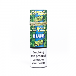 CYCLONES HEMP CONES BLUE 2 Pack