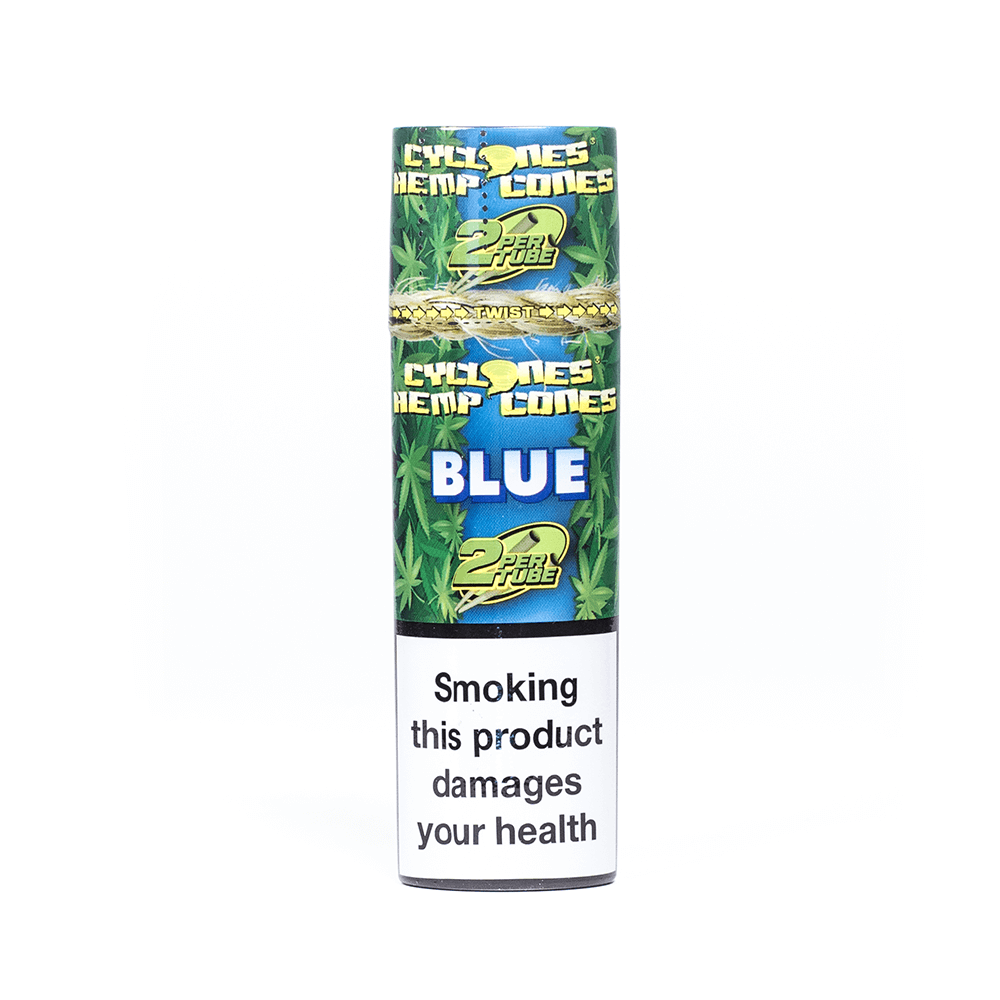 CYCLONES HEMP CONES BLUE