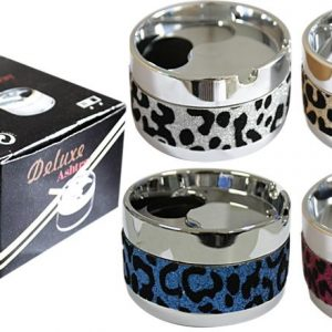 Leopard Print Smokeless Ashtray