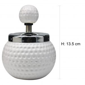 Golf Spinning Ashtray 13.5cm